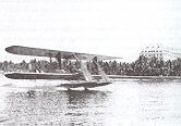 Hydroaeroplane at Palm Beach