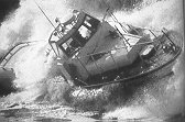 44' Coast Guard motor lifeboat